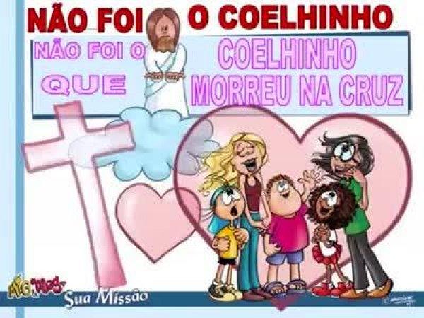 Significado da Páscoa em forma de canção infantil, muito bom!
