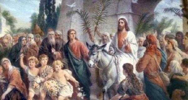 Domingo de Ramos, abrindo a Semana santa, a entrada de Jesus Cristo!!!