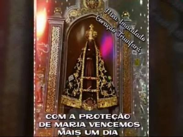 Hora de rezar a Nossa Senhora Aparecida, vale a pena compartilhar!!!