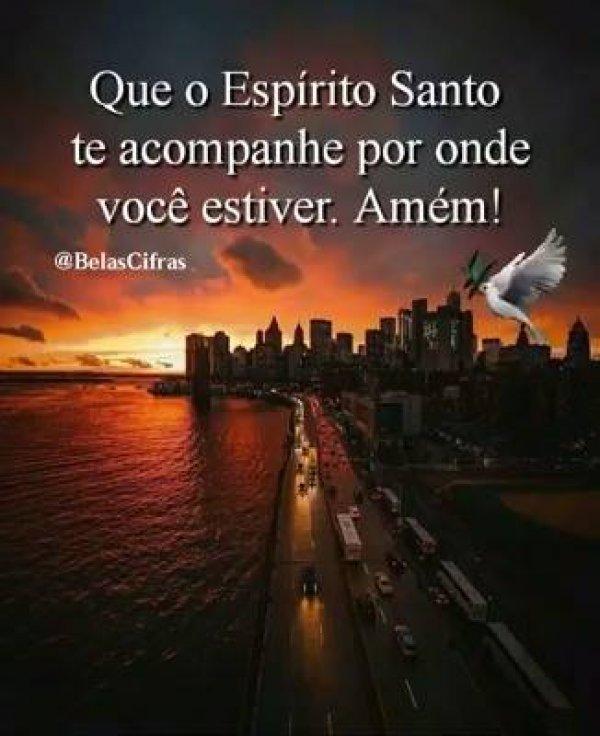 Mensagem do Espirito Santo para enviar a todos amigos e amigas especiais!!!