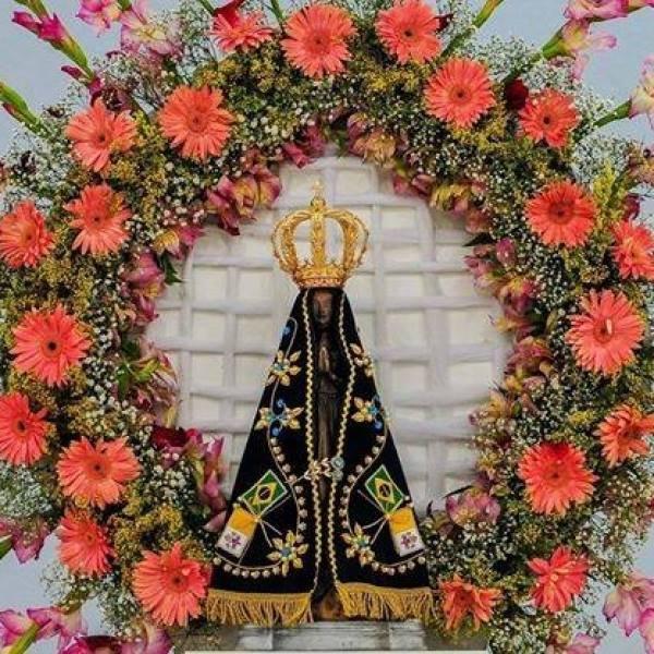 Nossa Senhora Aparecida A Padroeira do Brasil, rogai por todos nós neste momento