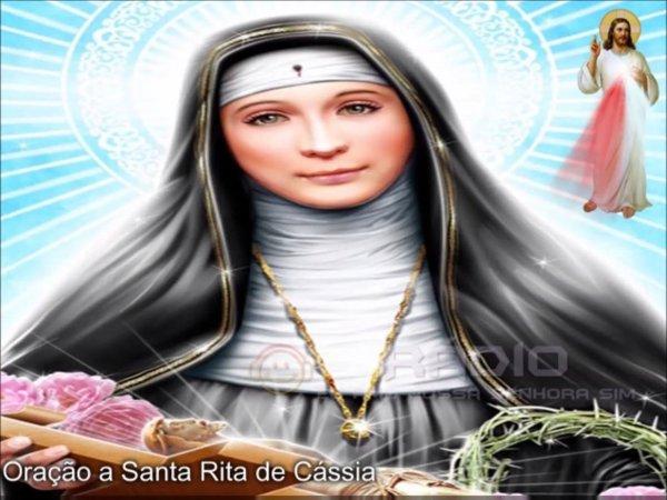 Oração Milagrosa a Santa Rita de Cássia, com narração em voz masculina!
