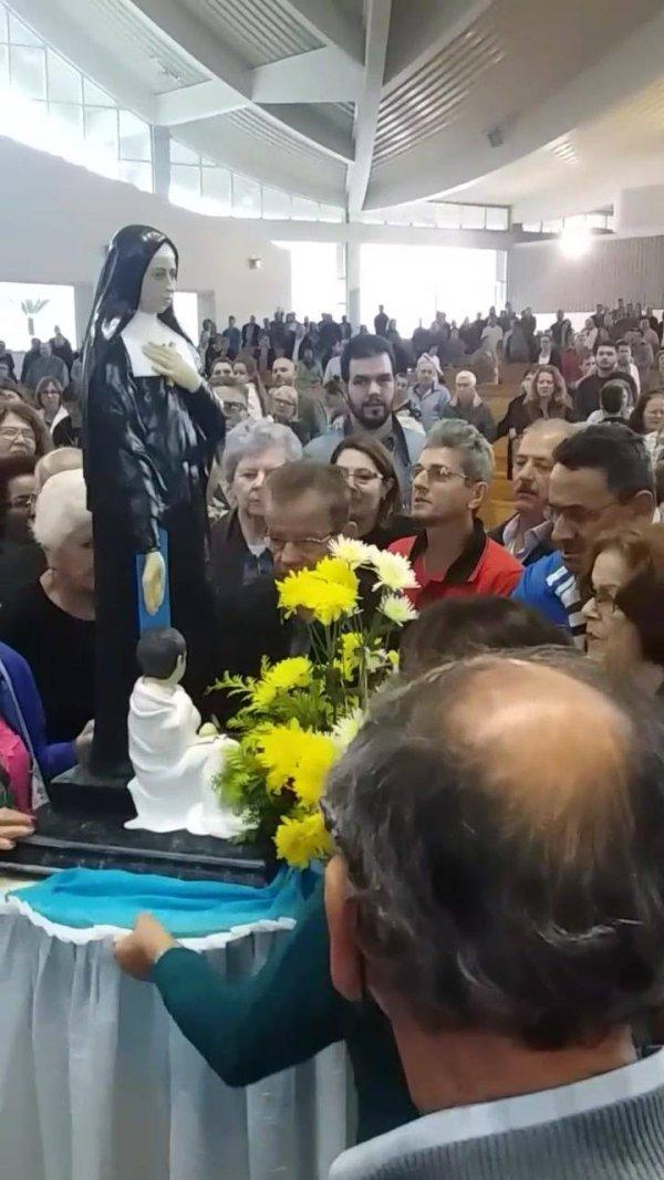 Santuário de Santa Paulina em Nova Trento em Santa Catarina!