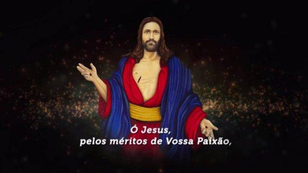 Vídeo com a oração as Santas Chagas, muito linda e emocionante!
