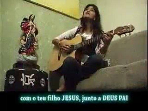 Vídeo com linda musica a Nossa Senhora desatadora de nós!!!!