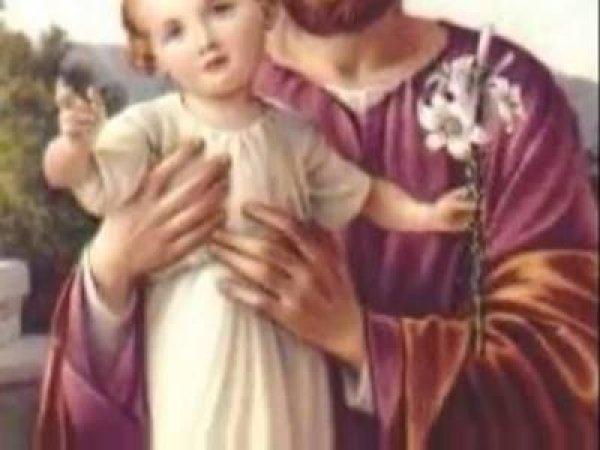 Vídeo com Oração de São José, Ele que foi pai adotivo de Jesus!!!