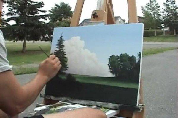 Arte de pintar paisagens de forma sensacional, vale a pena conferir!!!