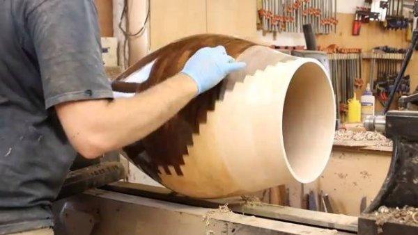 Arte de produzi vasos que são verdadeiras obras de arte, olha só que lindo!!!