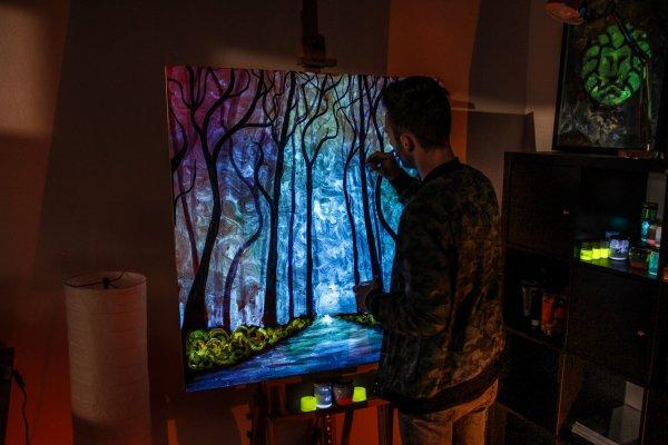 Arte de transformar tinta em paisagem maravilhosa, este dom é fantástico!!!