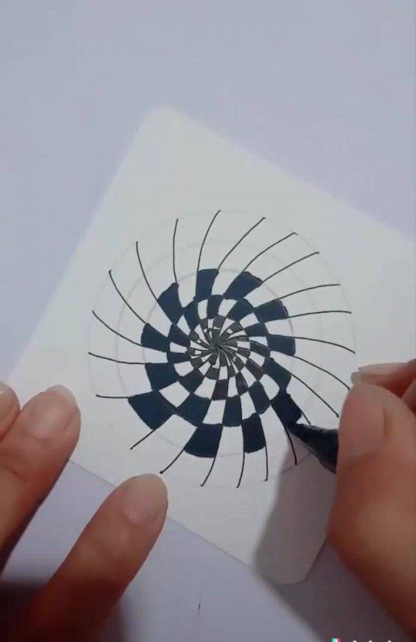 Desenhos em 3D, mais um video de arte que você vai gostar de postar!