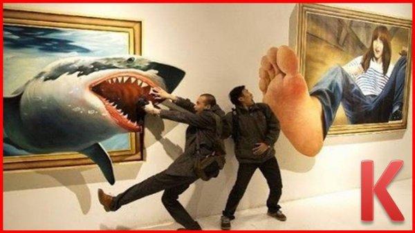 Desenhos em 3D uma arte fascinante que vai te deixar de queixo caído!!!