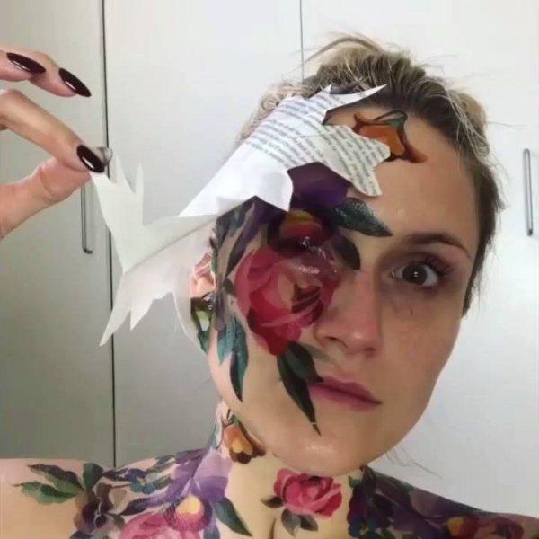 Maquiagens que são verdadeiras obras de arte,olha só que trabalho incrível!!!