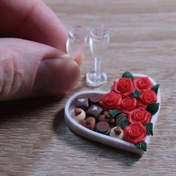 Miniatura romântica, essa arte vai te conquistar, confira!
