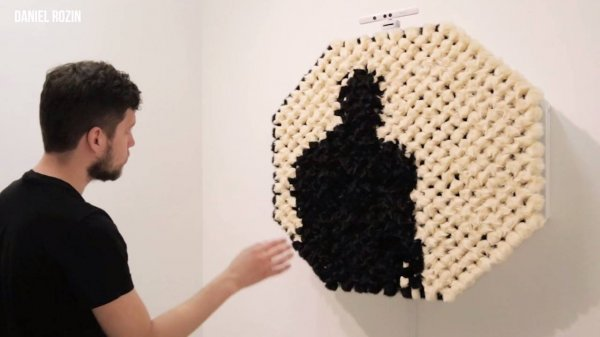 Obras de artes feitas com objetos que se movem através do seu movimento!