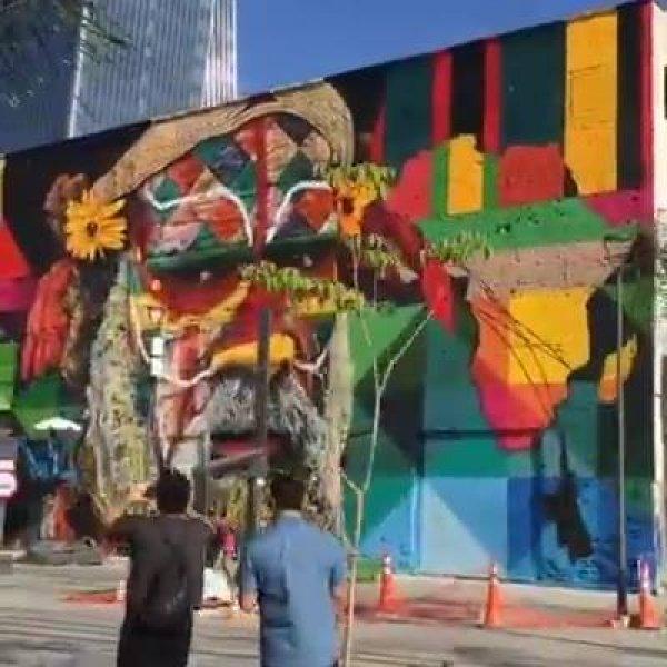 Trabalho de artista feito para homenagear a diversidade cultural e étinica!