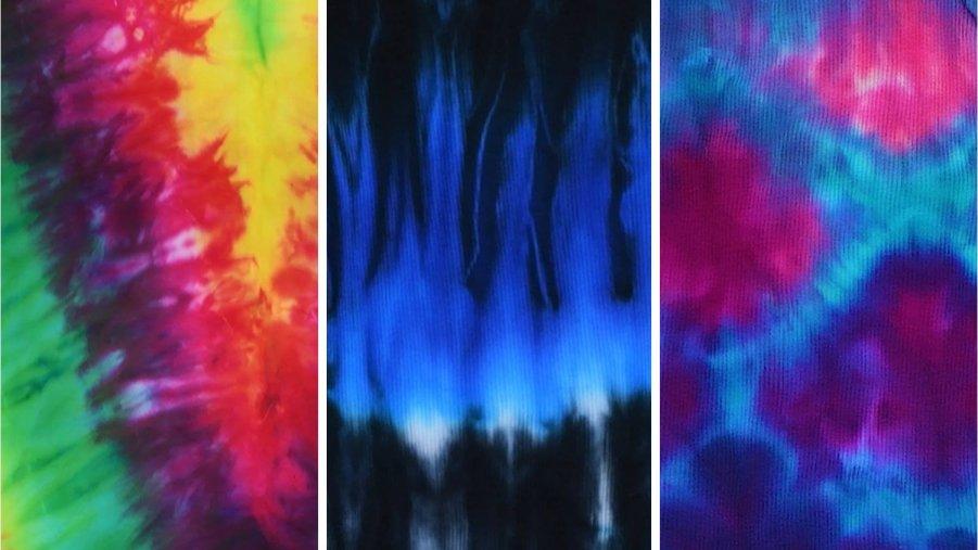 Artesanato de blusinhas super diferente usando a técnica de Tie-dye, confira!!!