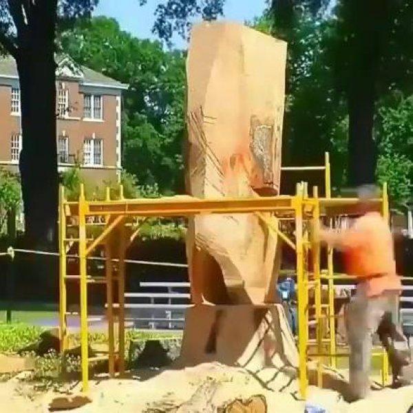 Artesanato em tronco de árvore, mais um video incrível para compartilhar!