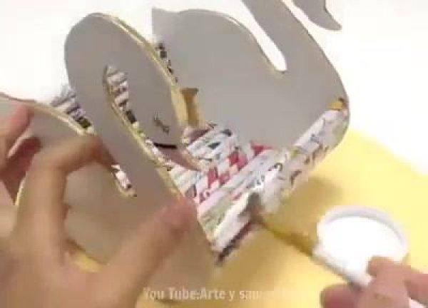 Artesanatos com papelões, os três são lindos, confira e compartilhe!