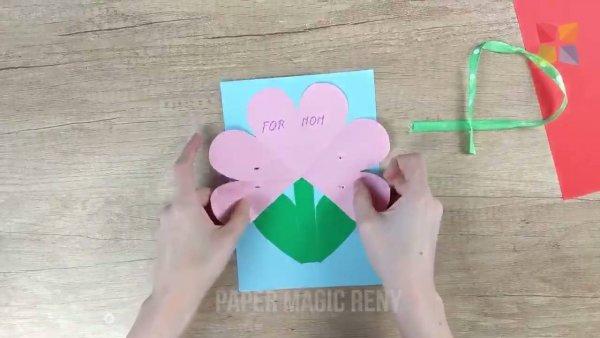 Cartão para o dia das mães, aprenda a fazer um lindo agora mesmo!