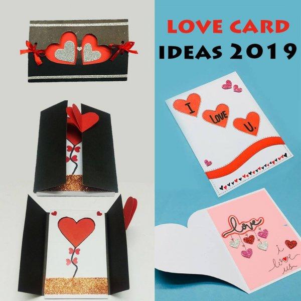 Cartões artesanais para o dia dos namorados, todos com passo a passo!