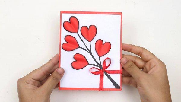 Dia dos namorados - Aprenda a fazer um lindo cartão para o seu amor!