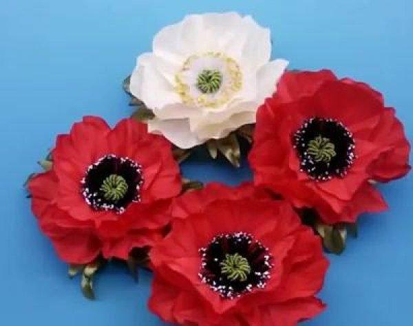Flores de mentira que parecem verdadeiras, aprenda a fazê-las!