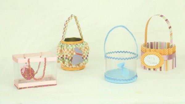 Ideias de artesanatos para a Páscoa, todas com materiais reciclados!