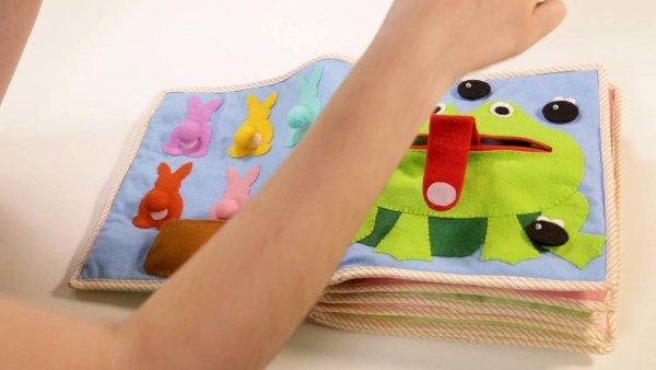 Livro Sensorial para Criança Feito com feltro, um video para tirar ideias!