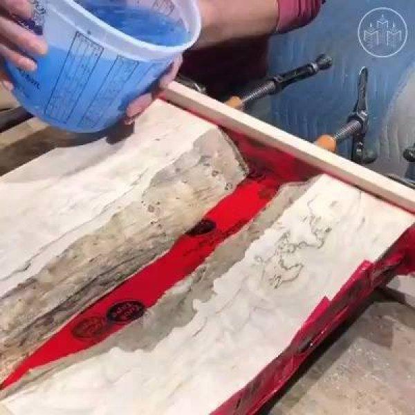 Miniaturas de rios feitas com resinas, são verdadeiras obras de artes!