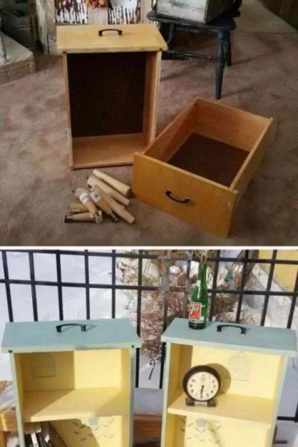 O que fazer com aquela gaveta velha, são ideias incríveis!