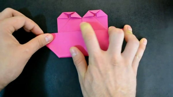 Origami de coração alado, um tutorial bem legal e interessante!