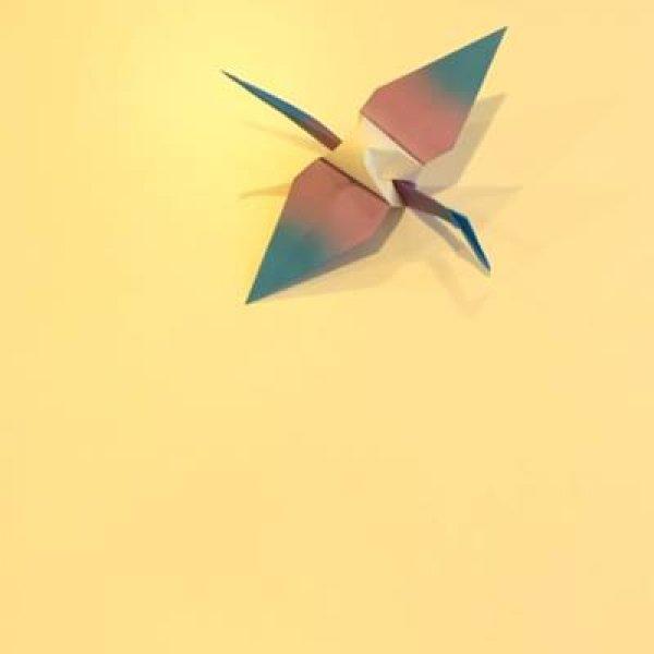 Origami de passarinho, olha só esta linda arte em apenas 15 segundos!!!