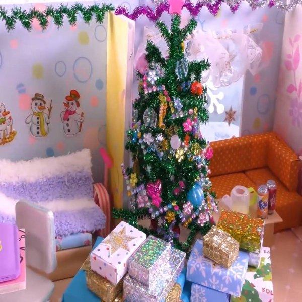 Passo a passo de miniatura de de casinha com tema natalino, que mimo!!!