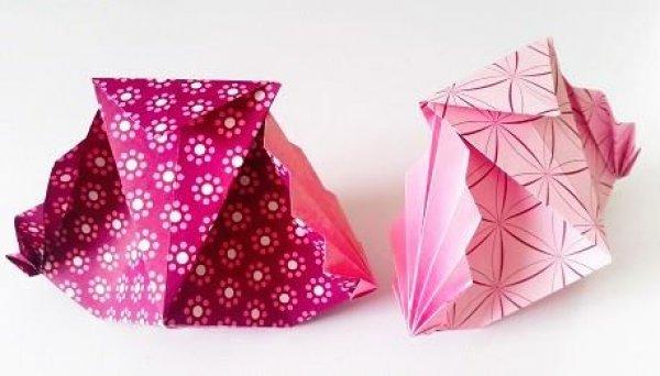 Tutorial de origami, se você ´fã desta arte bora dar o play!!!