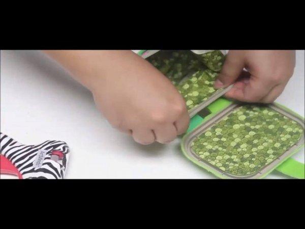 Vídeo de artesanato para fazer um lindo bauzinho com pote de margarina!!!