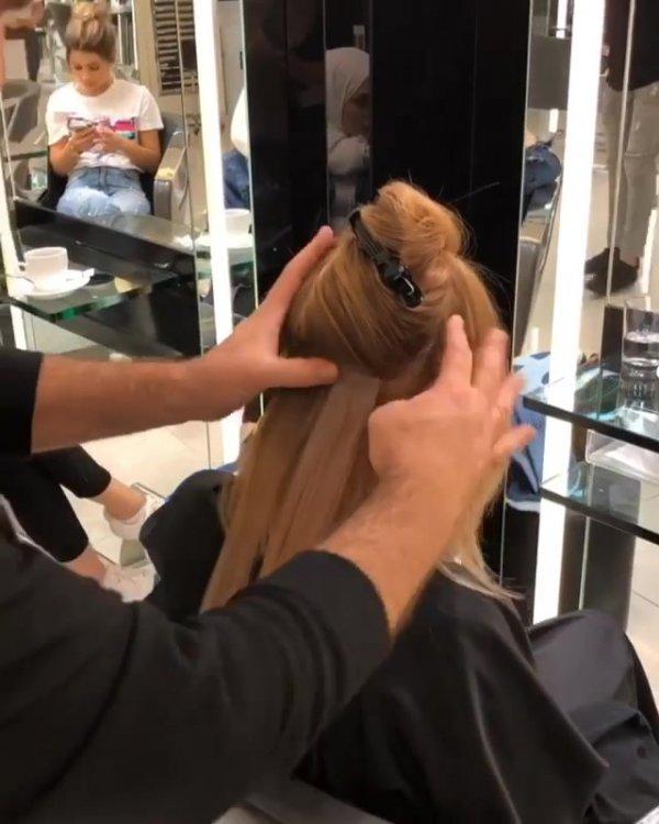 Colocação de aplique, olha só este cabelo incrível, você vai se apaixonar!!!
