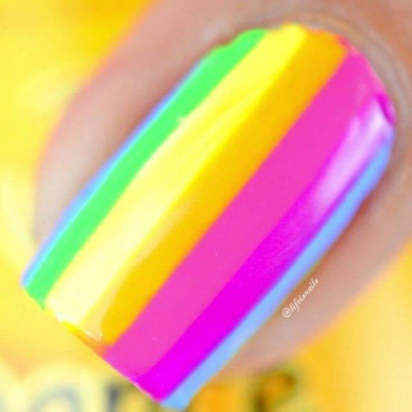 Como fazer unhas coloridas para curtir o carnaval, muito fácil!