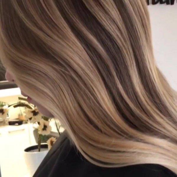 Corte e tintura de cabelo incrível, veja o que a descoloração pode fazer!!!