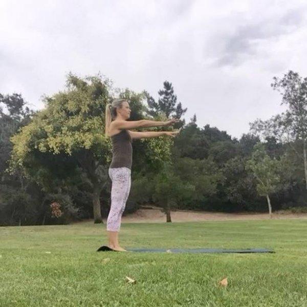 Exercício para fazer e relaxar o corpo e melhorar a flexibilidade!