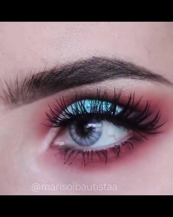 Inspiração de maquiagem para arrasar no carnaval, olha só que lindas sombras!!!