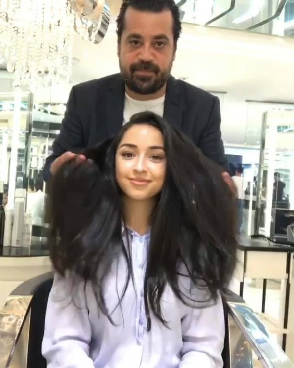 Inspiração de transformação de cabelo, da só uma olhada nesta cor!!!