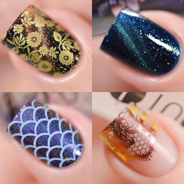 Inspiração de unha decorada para você mesma fazer, veja como são lindas!!!