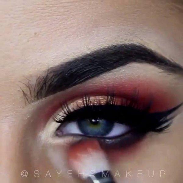 Inspirações de lindas sombras para os olhos, olha só que lindas!!!