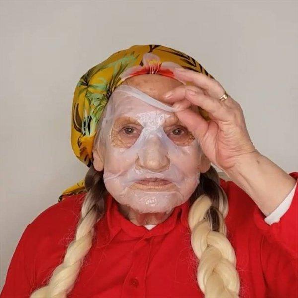 Maquiagem em pele madura, olha só que linda esta senhora super simpática!!!
