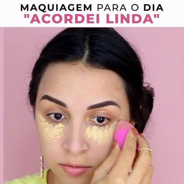 Maquiagem para você que acordou inspirada, veja que linda!