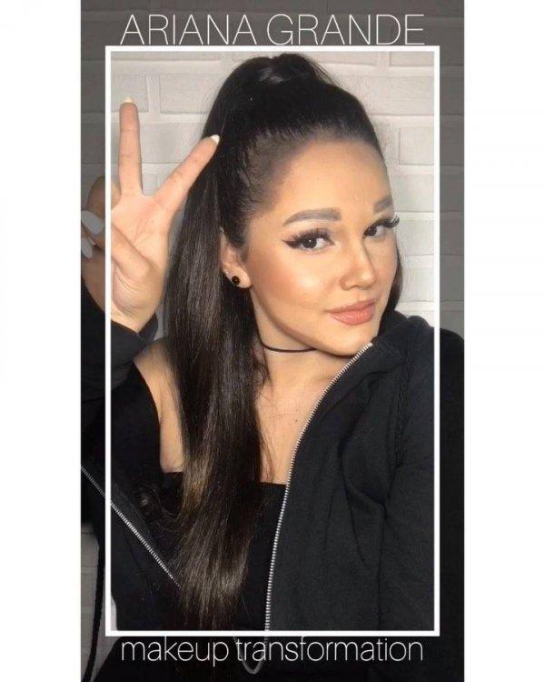 Menina se transforma em cantora pop com maquiagem, confira!