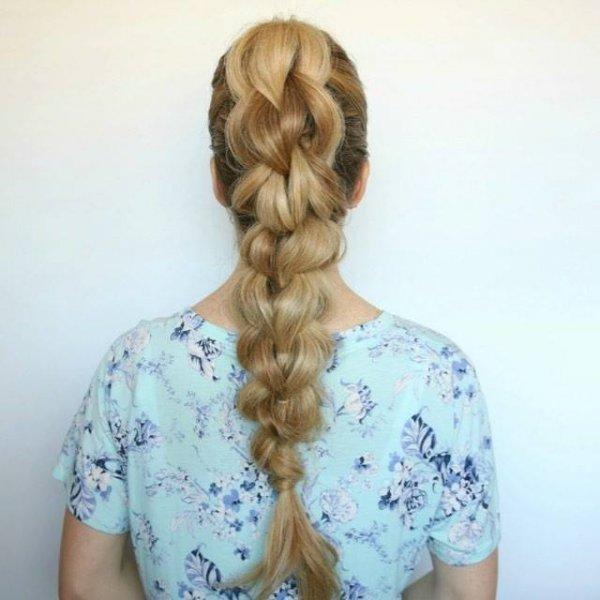 Penteado para cabelos longos para você mesma fazer, confira!!!