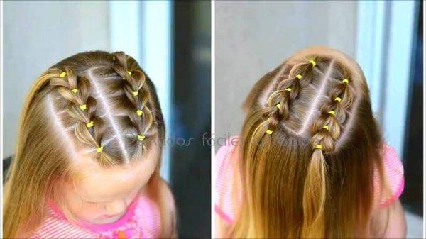 Penteado para garotinhas, este vídeo é para todas mamães de menina!!!!