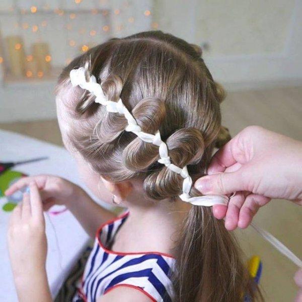 Penteado para meninas, todas mamães vão gostar deste passo a passo!