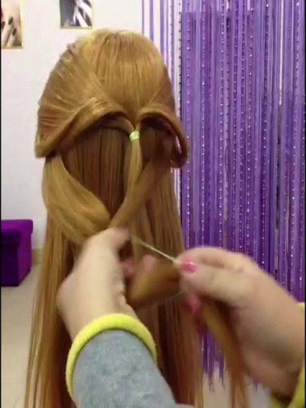 Penteados diferentes que você vai gostar de aprender e vai querer compartilhar!